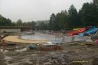 Fotografie z výstavby plovárny